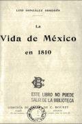 La vida de México en 1810
