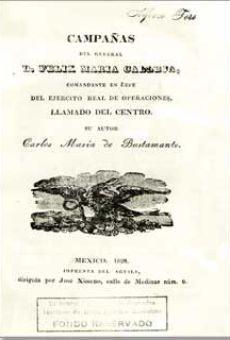 Campañas del general don Felix María Calleja, comandante en jefe del ejército real de operaciones...