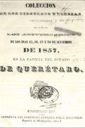 Colección de los discursos y poesías pronunciados en los aniversarios de los días 15, 16, 27 y 30 de setiembre de 1857...