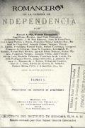 Romancero de la Guerra de Independencia. Tomos I y II
